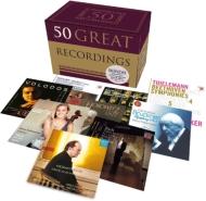 50グレート・レコーディングズ(50CD)