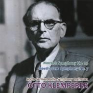 ベートーヴェン:交響曲第7番、モーツァルト:交響曲第29番 クレンペラー&北ドイツ放送響(1955)(平林直哉復刻)
