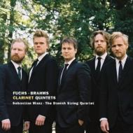ブラームス:クラリネット五重奏曲、フックス:クラリネット五重奏曲 マンツ、デンマーク弦楽四重奏団