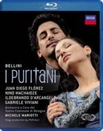 『清教徒』全曲 ピエラッリ演出、マリオッティ&ボローニャ歌劇場、フローレス、マチャイゼ、他(2009 ステレオ)