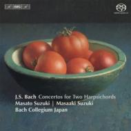 2台のチェンバロのための協奏曲集、管弦楽組曲第1番(2台チェンバロ版) 鈴木雅明、鈴木優人、バッハ・コレギウム・ジャパン