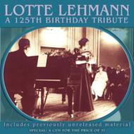ロッテ・レーマン生誕125周年記念ボックス(4CD)