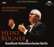 交響曲第4、5、6、7、8、9番 レーグナー&ベルリン放送響(1978〜90年ステレオ・ライヴ)(6CD)