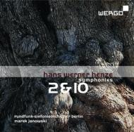 交響曲第2番、第10番 ヤノフスキ&ベルリン放送交響楽団