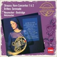 R.シュトラウス:ホルン協奏曲第1番、第2番、ブリテン:セレナード ノイネッカー、ボストリッジ、メッツマッハー&バンベルク響