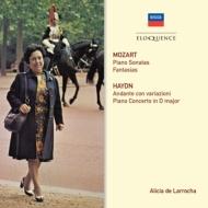 モーツァルト:ピアノ・ソナタ集(1973〜79)、ハイドン:ピアノ協奏曲、他 ラローチャ、ジンマン&ロンドン・シンフォニエッタ(3CD)