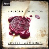 『パーセル・コレクション』 ヴォーチェス8、レザンヴァンシオン