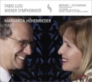 シューマン:ピアノ協奏曲、モーツァルト:ピアノ協奏曲第23番、ショパン:『お手をどうぞ』変奏曲 ヘーエンリーダー、ルイージ&ウィーン響