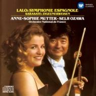 ラロ:スペイン交響曲、サラサーテ:ツィゴイネルワイゼン ムター、小澤征爾&フランス国立管