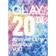GLAY 20th Anniversary LIVE BOX VOL.1 (DVD)