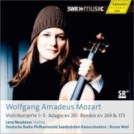 ヴァイオリン協奏曲全集 ノイダウアー、ヴァイル&ドイツ放送フィル(2CD)