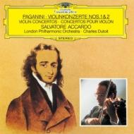 ヴァイオリン協奏曲第1番、第2番『ラ・カンパネッラ』 アッカルド、デュトワ&ロンドン・フィル