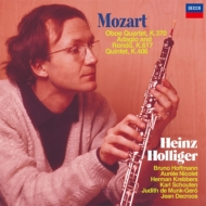 オーボエ四重奏曲、オーボエ五重奏曲、アダージョとロンド ホリガー、クレバース、ニコレ、ブルーノ・ホフマン、他