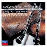 モーツァルト:クラリネット協奏曲、ウェーバー:クラリネット協奏曲第2番、シュポア:クラリネット協奏曲第1番 エルンスト・オッテンザマー、C.デイヴィス&ウィーン・フィル