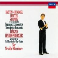 トランペット協奏曲集〜ハイドン、フンメル、ヘルテル、シュターミッツ ハーデンベルガー、マリナー&アカデミー室内管
