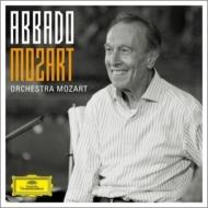 交響曲集、協奏曲集 アバド&モーツァルト管弦楽団、カルミニョーラ、アレグリーニ、他(8CD)