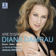 Arie Di Bravura-mozart, Salieri, Righini: Damrau(S)Rhorer / Le Cercle De L'harmonie