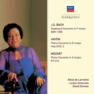 モーツァルト:ピアノ協奏曲第12番、バッハ:ピアノ協奏曲第5番、ハイドン ラローチャ、ジンマン&ロンドン・シンフォニエッタ
