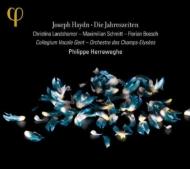 『四季』 ヘレヴェッヘ&シャンゼリゼ管弦楽団、コレギウム・ヴォカーレ(2CD)(日本語解説付)