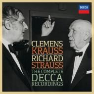 クレメンス・クラウス/R.シュトラウス・デッカ録音全集 ウィーン・フィル、フルニエ、ゴルツ、他(5CD)
