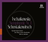 ショスタコーヴィチ:交響曲第6番、チャイコフスキー:交響曲第6番『悲愴』 ヤンソンス&バイエルン放送交響楽団(2013)