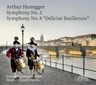 交響曲第2番、第4番『バーゼルの喜び』 デニス・ラッセル・デイヴィス&バーゼル交響楽団