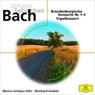 ブランデンブルク協奏曲第1番〜第3番、三重協奏曲 ゲーベル&ムジカ・アンティクヮ・ケルン