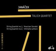 ヤナーチェク:弦楽四重奏曲第1番、第2番、シュルホフ:弦楽四重奏曲第1番 ターリヒ四重奏団