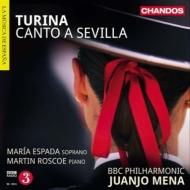 セビーリャの歌、交響的狂詩曲〜管弦楽作品集第2集 メナ&BBCフィル