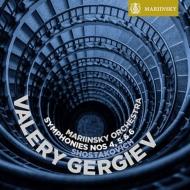 交響曲第4番、第5番、第6番 ゲルギエフ&マリインスキー歌劇場管(2012、13)(2SACD)
