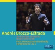 交響曲第3番『スコットランド』、第1番 オロスコ=エストラーダ&ウィーン・トーンキュンストラー管