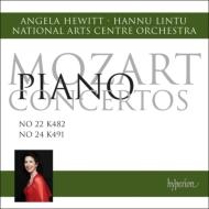 ピアノ協奏曲第22番、第24番 ヒューイット、リントゥ&カナダ・ナショナル・アーツ・センター管