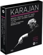 カラヤン・エディション/チャイコフスキー、ドヴォルザーク、フランク:交響曲集、ラヴェル、ドビュッシー、バルトーク管弦楽曲集、他(7CD)