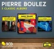 管弦楽曲集、ピアノ協奏曲集 ブーレーズ&ベルリン・フィル、クリーヴランド管、ロンドン響、ツィマーマン(3CD)