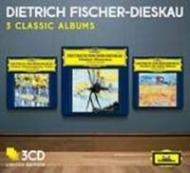 美しき水車小屋の娘、冬の旅、白鳥の歌、他 フィッシャー=ディースカウ、ムーア(1971、72)(3CD)