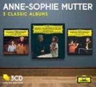 ヴァイオリン協奏曲集〜モーツァルト、ベートーヴェン、メンデルスゾーン、ブルッフ ムター、カラヤン&ベルリン・フィル(3CD)