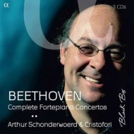 ベートーヴェン:ピアノ協奏曲全集〜弦楽合奏7人&完全二管によるロプコヴィツ邸試演時編成で アルテュール・スホーンデルヴルト、アンサンブル・クリストフォリ