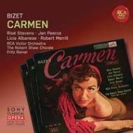 『カルメン』全曲 ライナー&RCAビクター管、スティーヴンズ、ピアース、他(1951 モノラル)(3CD)