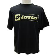 Lotto 半袖Tシャツ ブラック M