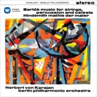 Bartok Music for Strings Percussion & Celesta, Hindemith : Karajan / Berlin Philharmonic (1960, 57)(Hybrid)