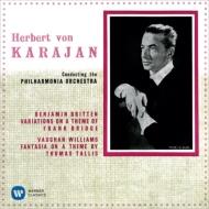 ルーセル:交響曲第4番、バラキレフ:交響曲第1番、ヴォーン・ウィリアムズ:タリス幻想曲、ブリテン:ブリッジ変奏曲、他 カラヤン&フィルハーモニア管(2SACD)