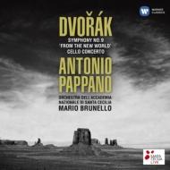 Sym, 9, Cello Concerto: Pappano / St Cecilia Academic O Brunello(Vc)