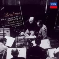 ピアノ協奏曲第1番、バラード集 クラウディオ・アラウ、ベルナルド・ハイティンク&コンセルトヘボウ管弦楽団