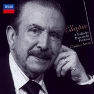 バラード集、舟歌、幻想曲 クラウディオ・アラウ(1977、1980)