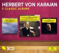 管弦楽名曲集〜アイネ・クライネ・ナハトムジーク、ローマの松、アルルの女、他 カラヤン&ベルリン・フィル(3CD)