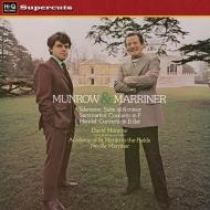 「リコーダー協奏曲集」:デイヴィッド・マンロウ(リコーダー)、ネヴィル・マリナー指揮&アカデミー室内管弦楽団 (180グラム重量盤レコード/Hi-Q Records Supercuts)