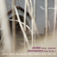 ドヴォルザーク:『ドゥムキー』、『糸杉』より、ショスタコーヴィチ:ピアノ三重奏曲第1番 フォークト、テツラフ兄妹、マルグリス、ピルサン、他