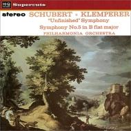 交響曲第8番『未完成』、第5番 オットー・クレンペラー&フィルハーモニア管弦楽団 (180グラム重量盤レコード/Hi-Q Records Supercuts)