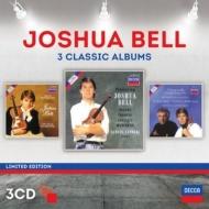 ヴァイオリン協奏曲集(チャイコフスキー、メンデルスゾーン、ブルッフ、他)、ヴァイオリン小品集 ベル、マリナー指揮、アシュケナージ指揮、他(3CD)