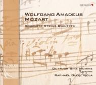 弦楽五重奏曲全集 シネ・ノミネ四重奏団、ラファエル・オレグ(2CD)